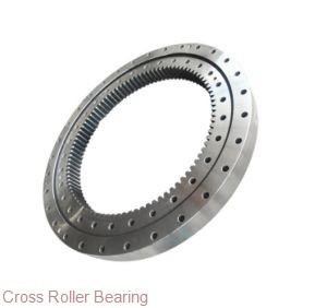 turret ring gear singlerow ball bearing slewing bearing