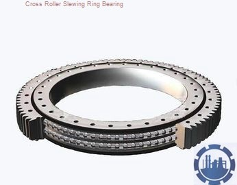 large size single row contact ball slewing ring bearing for suspension conveyor