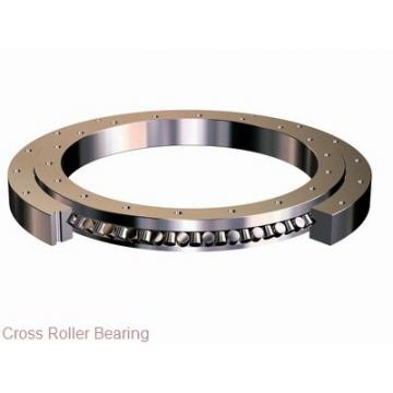 Three row cylindrical roller combined slewing bearing ring with external gear external gear lazy susan bearings