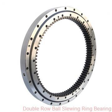 double row different ball slewing ring bearing for hydraulic taphole drilling machine