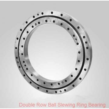 small single row ball slewing ring bearing with external gear