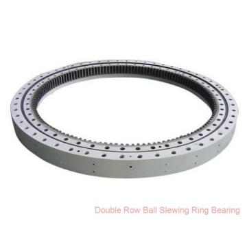 Solar tracker slewing ring bearing with external gear for truck turntables