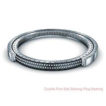 Non-Gear Single-Row Contact Ball Slewing Ring Bearing For Turntable