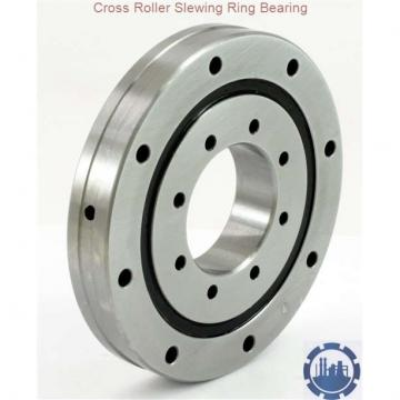 Internal gear tooth quenched single row ball slewing ring bearing from excavator