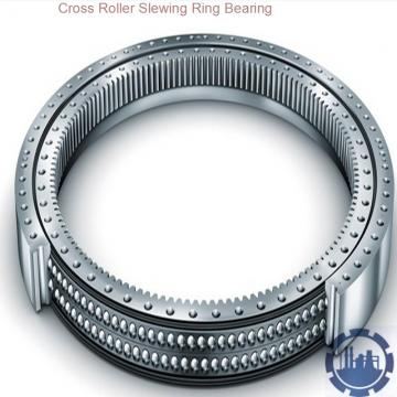 large size single row cross roller slewing bearing