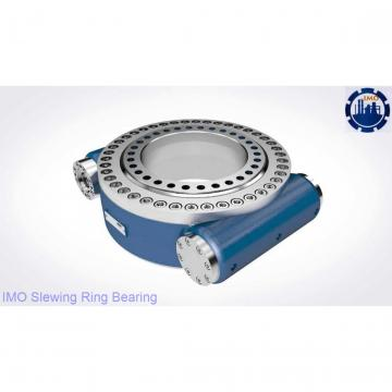 Four point contact ball slewing ring for shield tunneling machine