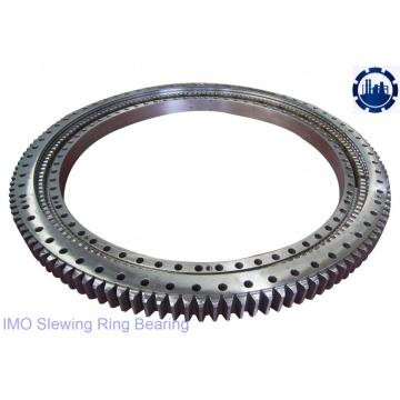 single row slewing gear bearing for cargo crane and amusement rides and aerial work platform