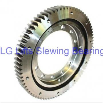 Good Nongear Single Row Four Point Contact Ball Slewing Bearing For Welding Manipulator