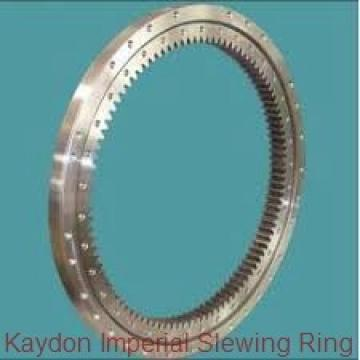 four point contact ball mechanical slewing ring bearing
