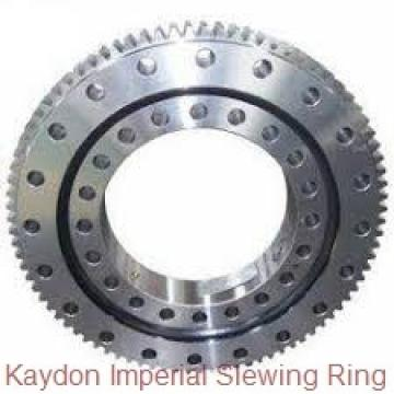 Single row four point contact slewing bearing for wind power system