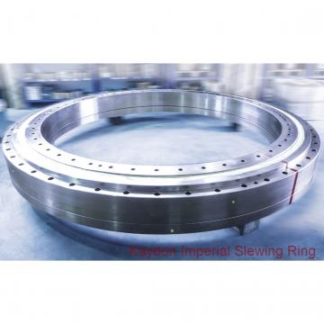 liebherr crane slew ring Deck crane with external gear slewing bearing and Double-row ball slewing bearing Ring