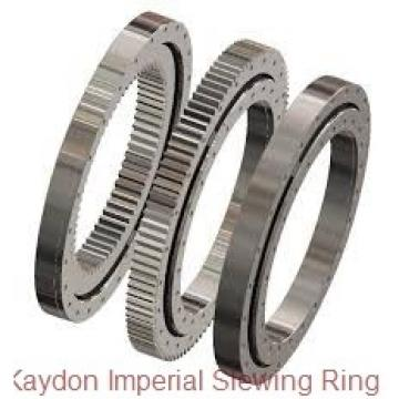 Thin section with external gear used for window clearing machine slewing ring bearing