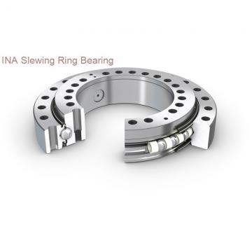 single row four point contact ball slewing ring bearing for motor grader